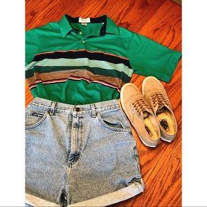 Tops - VINTAGE 90s Golf Shirt